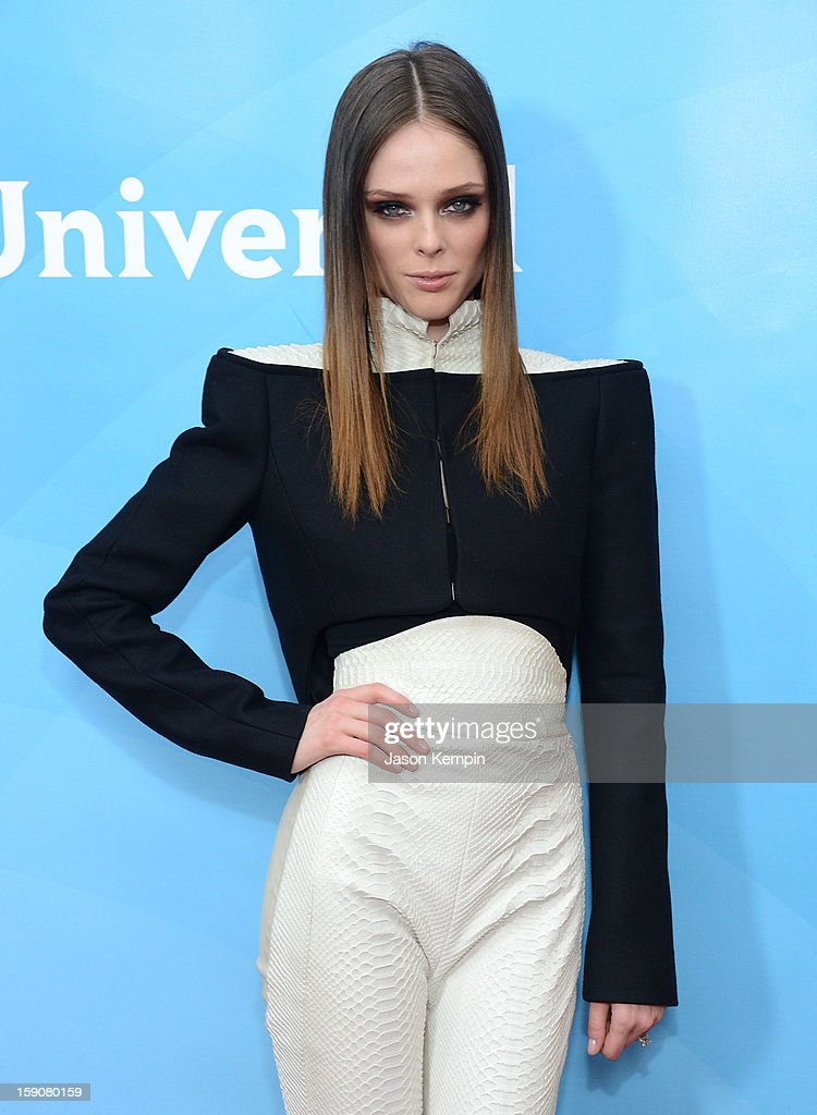 Coco Rocha attends NBCUniversal's '2013 Winter TCA Tour' Day 2 at Langham Hotel on January 7, 2013 in Pasadena, California.