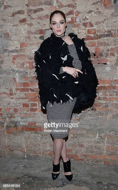 Coco Rocha attends Runway at ArtBeam on February 14 2015 in New York City
