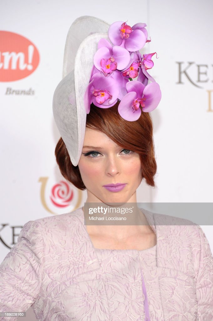 Coco Rocha attends the 139th Kentucky Derby at Churchill Downs on May 4, 2013 in Louisville, Kentucky.