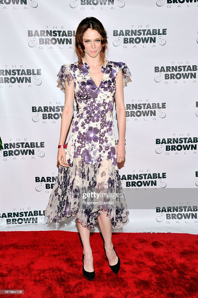 Coco Rocha attends the 2013 Barnstable-Brown Derby gala at Barnstable-Brown House on May 3, 2013 in Louisville, Kentucky.
