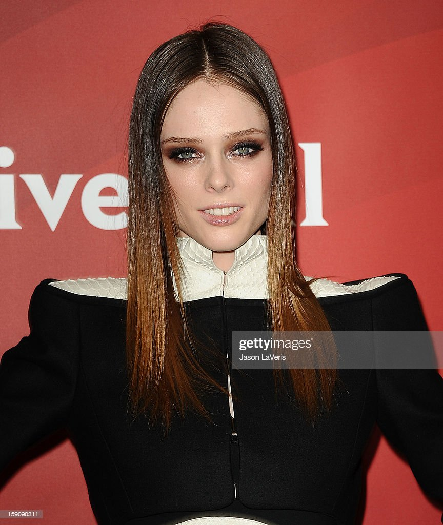 Coco Rocha attends the 2013 NBC TCA Winter Press Tour at The Langham Huntington Hotel and Spa on January 7, 2013 in Pasadena, California.