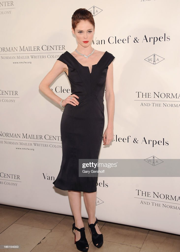 <a gi-track='captionPersonalityLinkClicked' href=/galleries/search?phrase=Coco+Rocha&family=editorial&specificpeople=4172514 ng-click='$event.stopPropagation()'>Coco Rocha</a> attends the 2013 Norman Mailer Center Gala at New York Public Library on October 17, 2013 in New York City.
