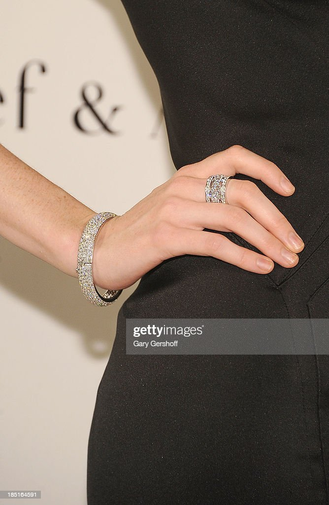 <a gi-track='captionPersonalityLinkClicked' href=/galleries/search?phrase=Coco+Rocha&family=editorial&specificpeople=4172514 ng-click='$event.stopPropagation()'>Coco Rocha</a> (jewelry detail) attends the 2013 Norman Mailer Center Gala at New York Public Library on October 17, 2013 in New York City.
