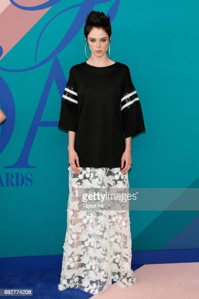Coco Rocha attends the 2017 CFDA Fashion Awards at Hammerstein Ballroom on June 5 2017 in New York City