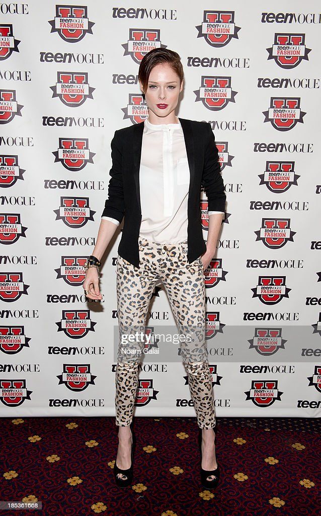 Coco Rocha attends the 8th Annual Teen Vogue University on October 19, 2013 in New York City.