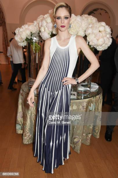 Coco Rocha attends The 9th Annual Filmmakers Dinner hosted by Charles Finch and JaegerLeCoultre at Hotel du CapEdenRoc on May 19 2017 in Cap...