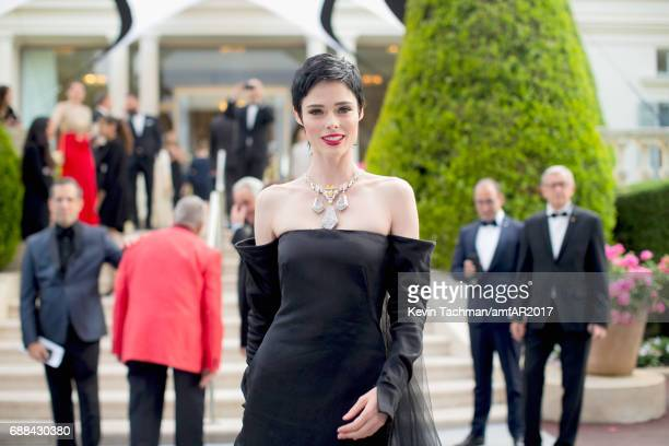 Coco Rocha attends the amfAR Gala Cannes 2017 at Hotel du CapEdenRoc on May 25 2017 in Cap d'Antibes France