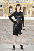Coco Rocha attends the Christian Dior show as part of the Paris Fashion Week Womenswear Spring/Summer 2015 on September 26 2014 in Paris France