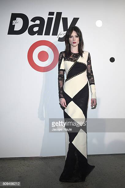Coco Rocha attends The Daily Front Row and Target New York Fashion Week kickoff party at Milk Studios on February 10 2016 in New York City