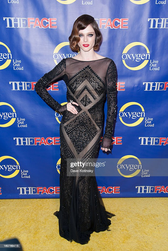 Coco Rocha attends 'The Face' Series Premiere at Marquee New York on February 5, 2013 in New York City.