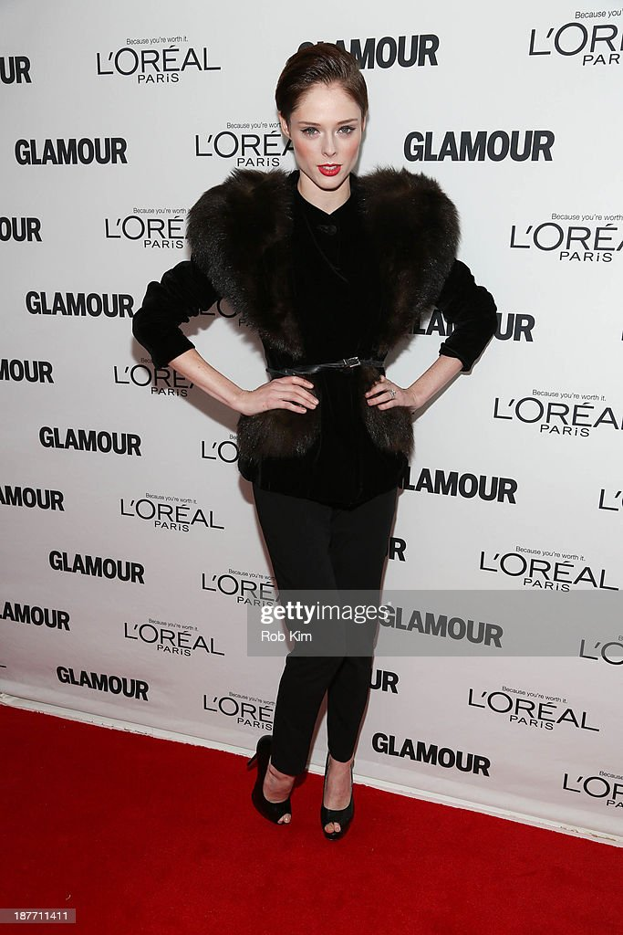<a gi-track='captionPersonalityLinkClicked' href=/galleries/search?phrase=Coco+Rocha&family=editorial&specificpeople=4172514 ng-click='$event.stopPropagation()'>Coco Rocha</a> attends the Glamour Magazine 23rd annual Women Of The Year gala on November 11, 2013 in New York, United States.