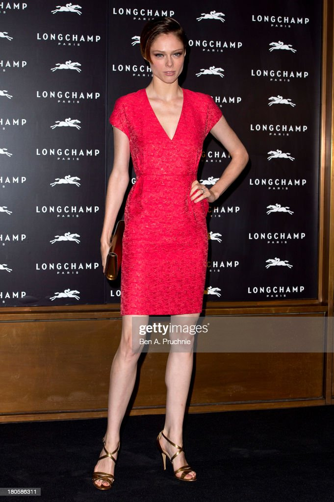 <a gi-track='captionPersonalityLinkClicked' href=/galleries/search?phrase=Coco+Rocha&family=editorial&specificpeople=4172514 ng-click='$event.stopPropagation()'>Coco Rocha</a> attends the grand opening party of Longchamp Regent Street on September 14, 2013 in London, England.