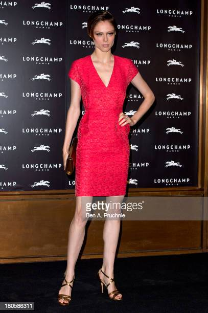 Coco Rocha attends the grand opening party of Longchamp Regent Street on September 14 2013 in London England