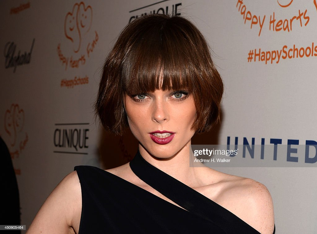 <a gi-track='captionPersonalityLinkClicked' href=/galleries/search?phrase=Coco+Rocha&family=editorial&specificpeople=4172514 ng-click='$event.stopPropagation()'>Coco Rocha</a> attends the Happy Hearts Fund Gala with Chopard 10 year anniversary of the Indian Ocean tsunami tribute at Cipriani 42nd Street on June 19, 2014 in New York City.