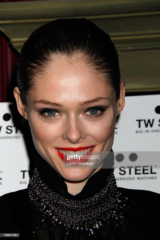 Coco Rocha attends the launch party for the DuJour February digital issue at The Darby Restaurant on January 23, 2013 in New York City.