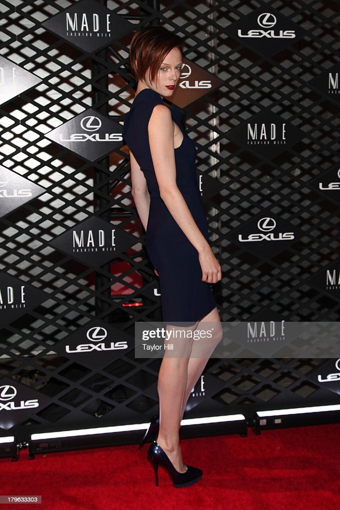 <a gi-track='captionPersonalityLinkClicked' href=/galleries/search?phrase=Coco+Rocha&family=editorial&specificpeople=4172514 ng-click='$event.stopPropagation()'>Coco Rocha</a> attends the Lexus Design Disrupted Fashion Event at SIR Stage 37 on September 5, 2013 in New York City.