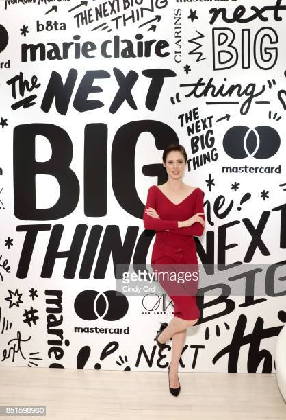 Coco Rocha attends the Mastercard and Marie Claire launch the Next Big Thing Concept Shop a popup store in New York City that showcases what's next...
