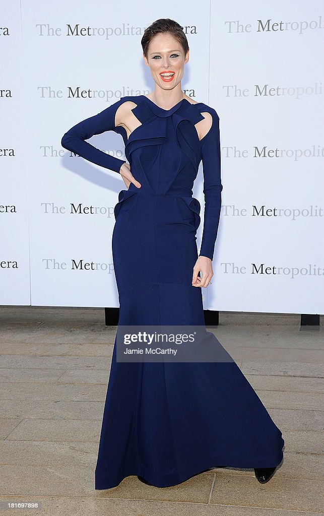<a gi-track='captionPersonalityLinkClicked' href=/galleries/search?phrase=Coco+Rocha&family=editorial&specificpeople=4172514 ng-click='$event.stopPropagation()'>Coco Rocha</a> attends the Metropolitan Opera Season Opening Production Of 'Eugene Onegin' at The Metropolitan Opera House on September 23, 2013 in New York City.