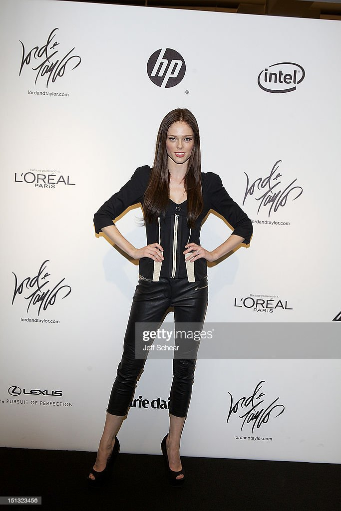 Coco Rocha attends the Project Runway Season 10 Wrap Party at Lord & Taylor on September 5, 2012 in New York City.