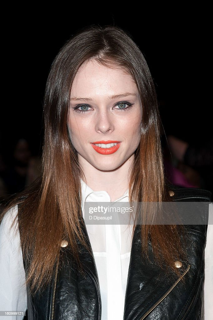 Coco Rocha attends the Rebecca Minkoff Fall 2013 Mercedes-Benz Fashion Show at The Theater at Lincoln Center on February 8, 2013 in New York City.