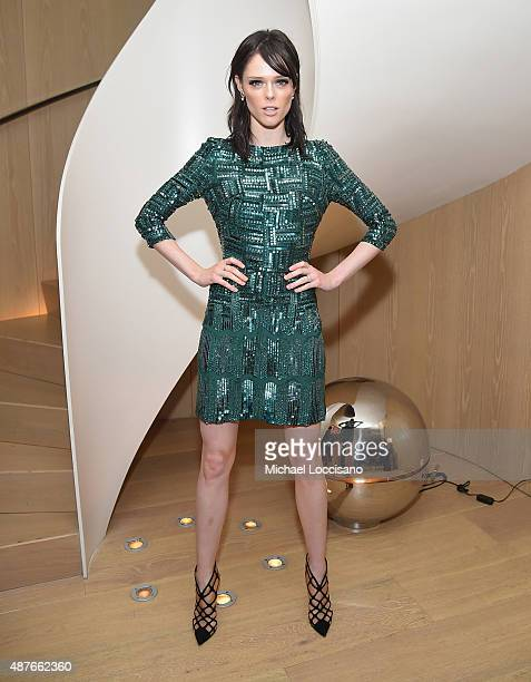 Coco Rocha attends the Rihanna Party at The New York Edition on September 10 2015 in New York City
