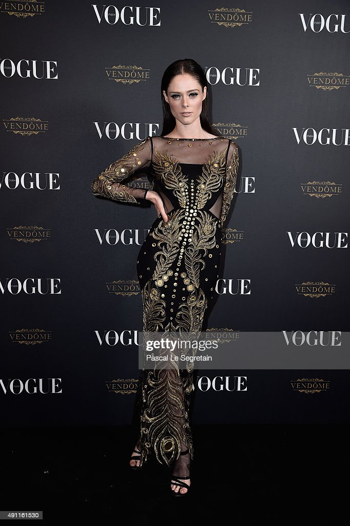 Vogue 95th Anniversary Party Arrivals - Paris Fashion Week Womenswear Spring/Summer 2016