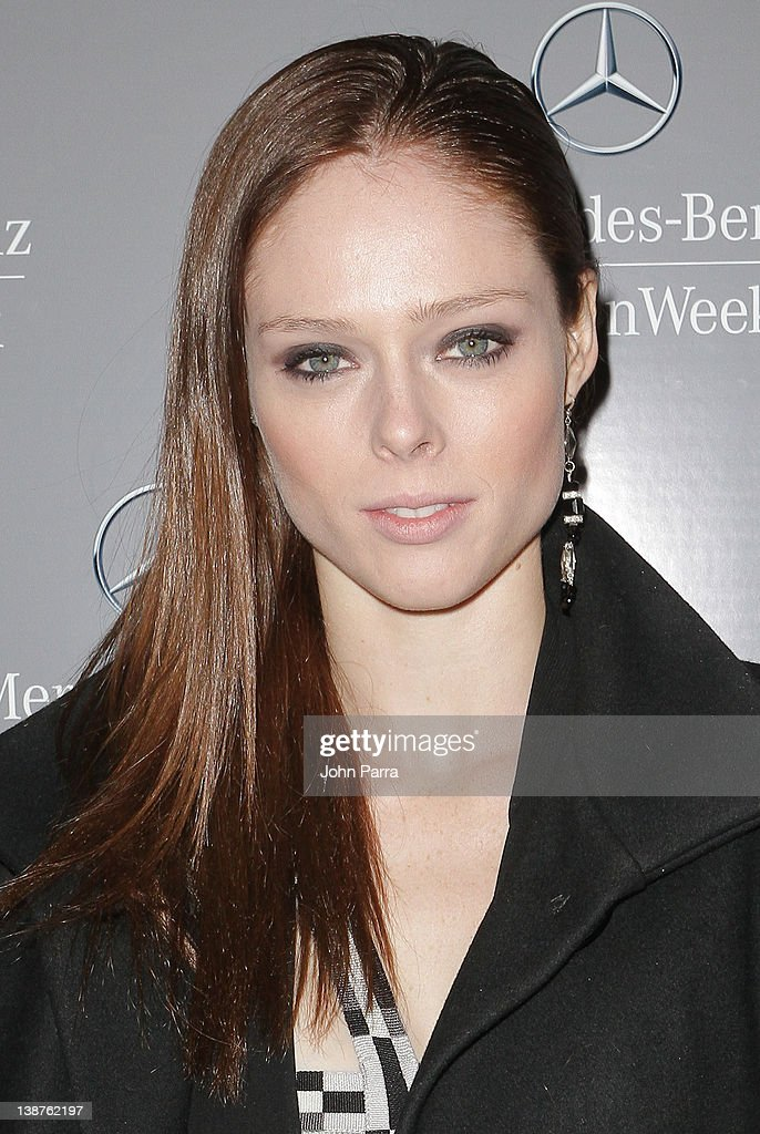 Coco Rocha is seen around Lincoln Center during Fall 2012 Mercedes-Benz Fashion Week on February 11, 2012 in New York City.