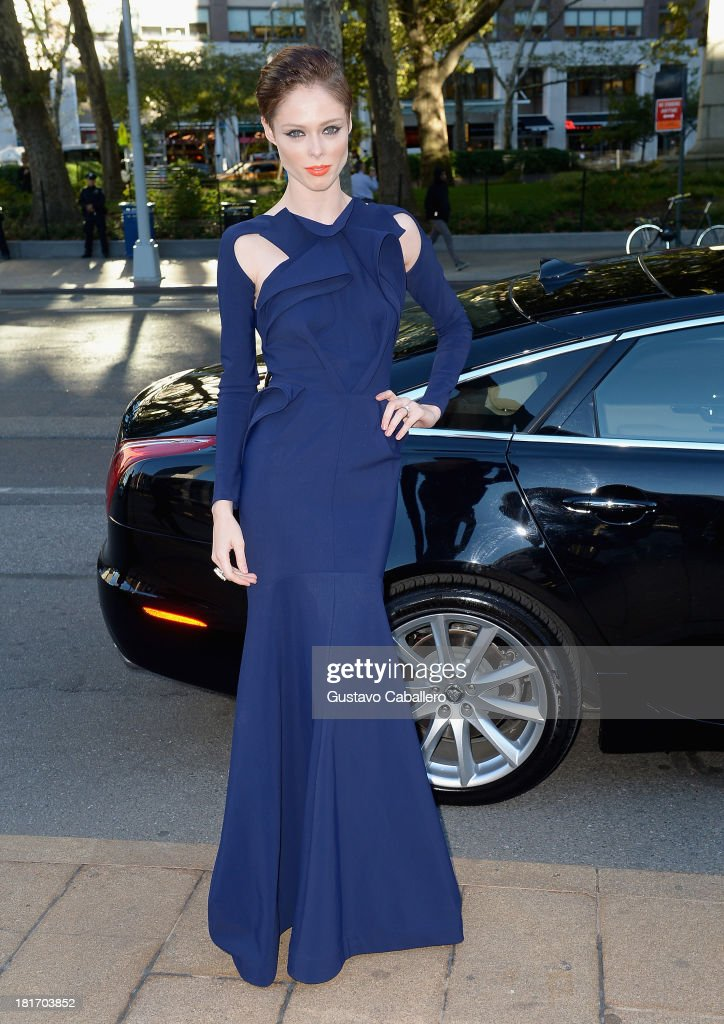 Coco Rocha is seen New York on September 23, 2013 in New York City.