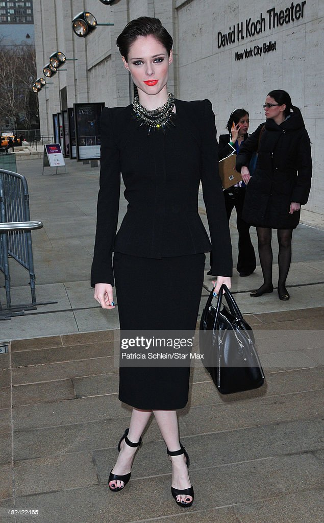 <a gi-track='captionPersonalityLinkClicked' href=/galleries/search?phrase=Coco+Rocha&family=editorial&specificpeople=4172514 ng-click='$event.stopPropagation()'>Coco Rocha</a> is seen on April 3, 2014 in New York City.