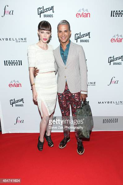 Coco Rosha and Jay Manuel attend The Daily Front Row Second Annual Fashion Media Awards at Park Hyatt New York on September 5 2014 in New York City