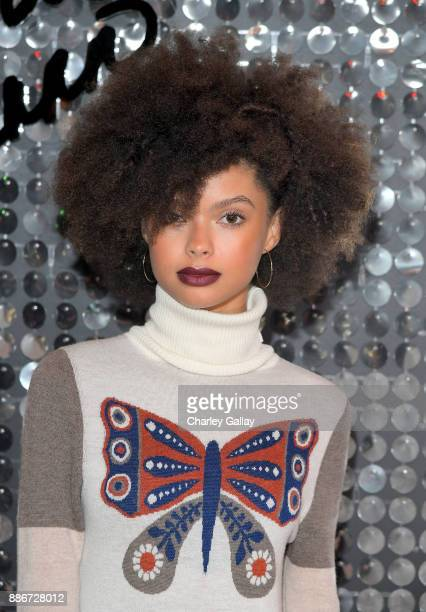 Coco Samone at the MAC Cosmetics PatrickStarrr Launch Party at El Rey Theatre on December 5 2017 in Los Angeles California