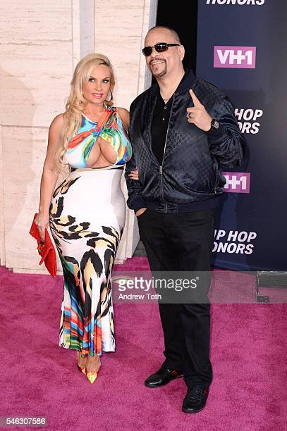 Coco T and Ice T attend the 2016 VH1 Hip Hop Honors All Hail The Queens at Hammerstein Ballroom on July 11 2016 in New York City