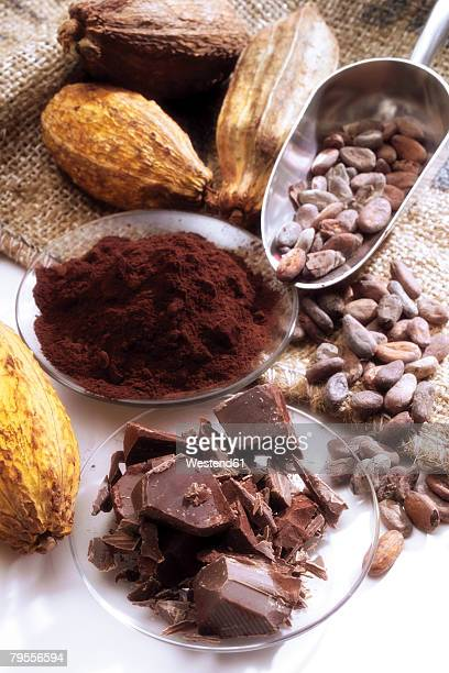 Cocoa Pods and Chocolate Product