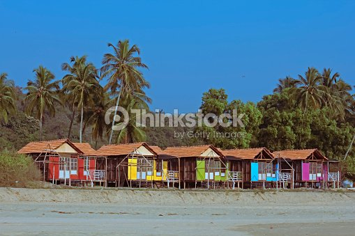 Cocohut vacanza al mare bungalow su palafitte agonda for Fantastici disegni di bungalow