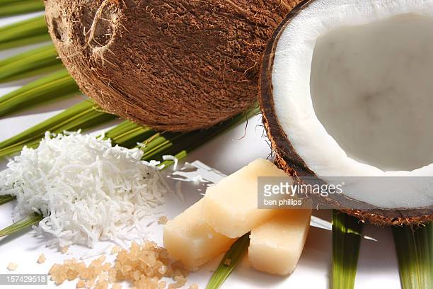 Coconut and palm sugar