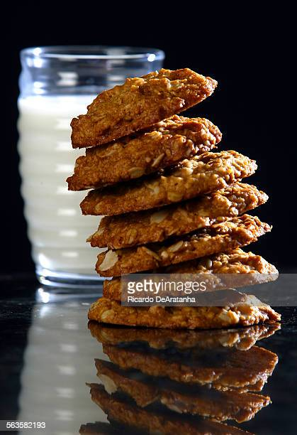 Coconut Anzac biscuits
