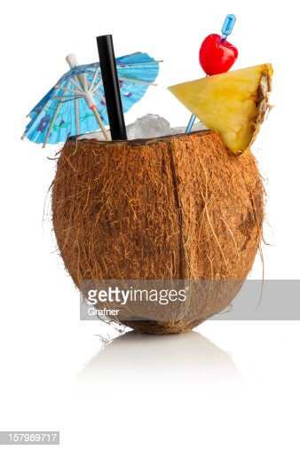how to break a coconut to drink