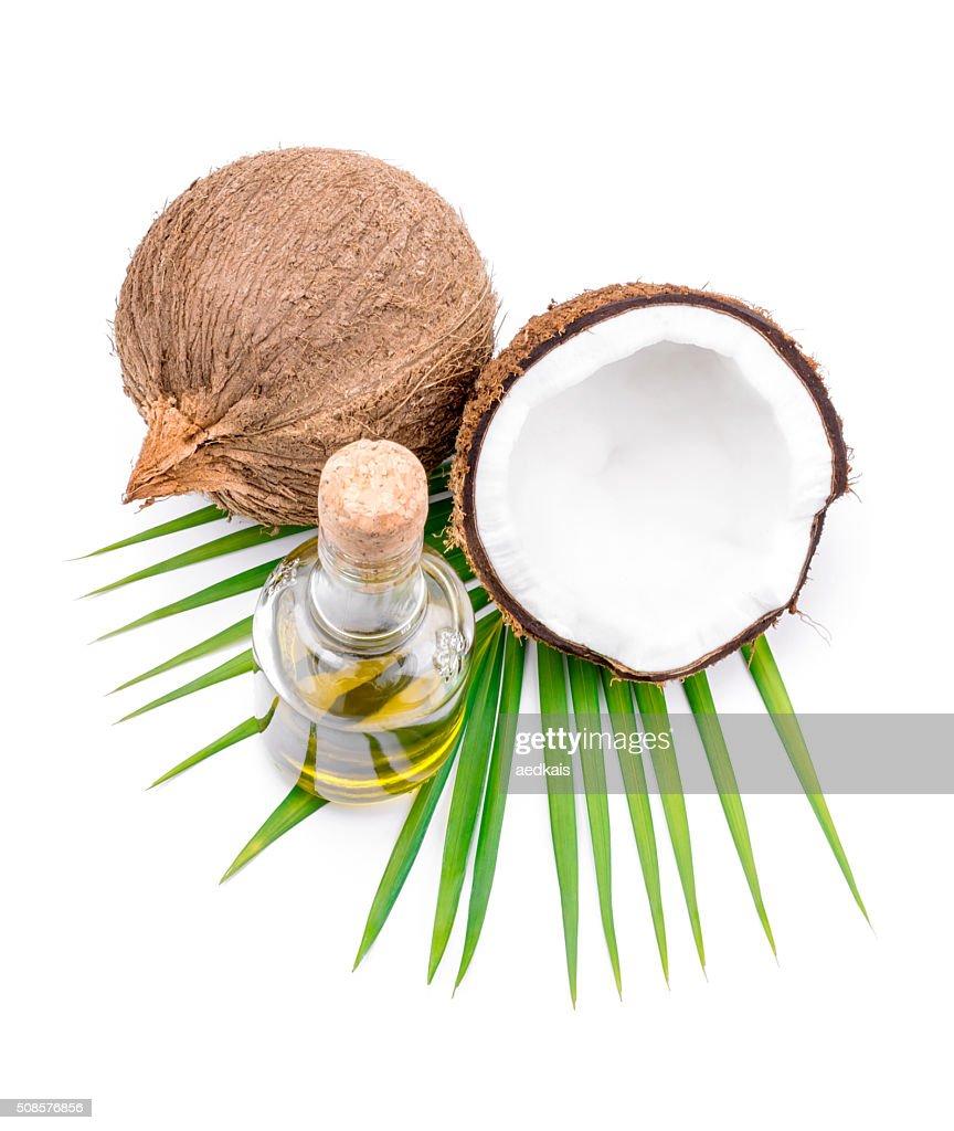 De l'huile de noix de coco pour Thérapie alternative : Photo