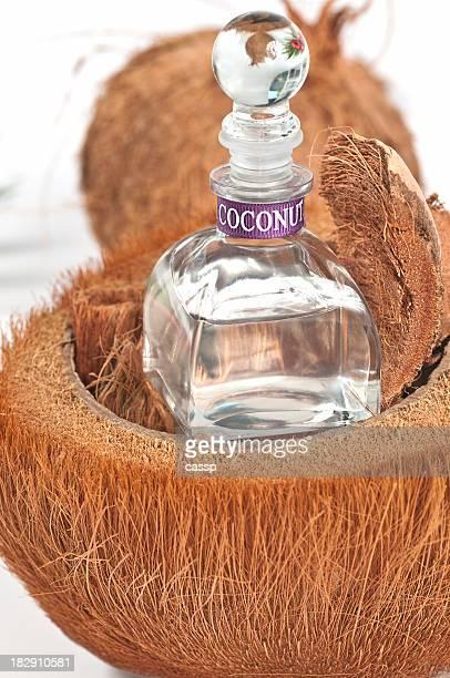 De l'huile de noix de coco