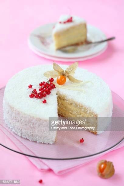 Coconut Orange Layered Cake
