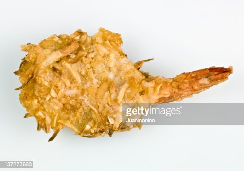Coconut shrimp : Stock Photo