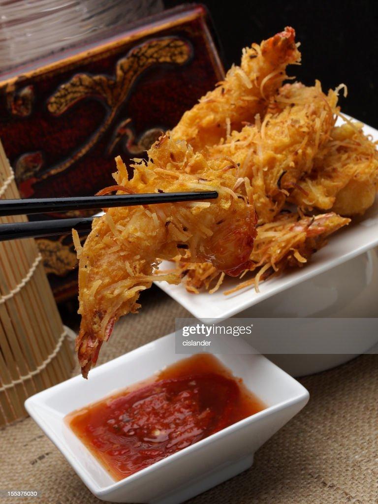 Coconut Shrimp : Stock Photo
