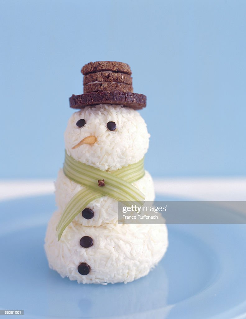 Coconut Snowman Stock Photo | Getty Images