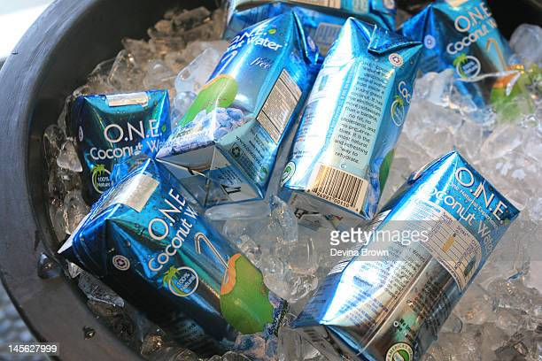 E Coconut Water at FILTER X Original Penguin Launch New Summer Sessions Music Series at Original Penguin on June 02 2012 in West Hollywood California