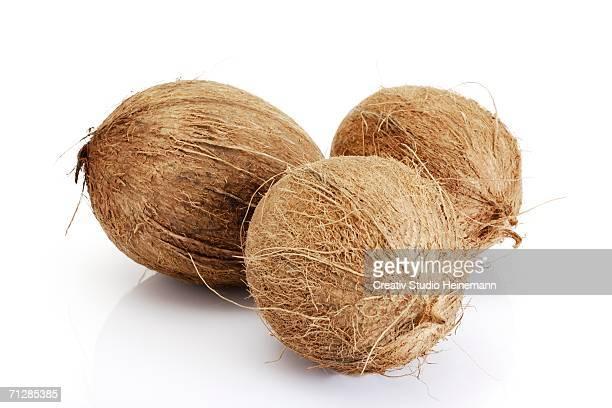 Coconuts, close-up