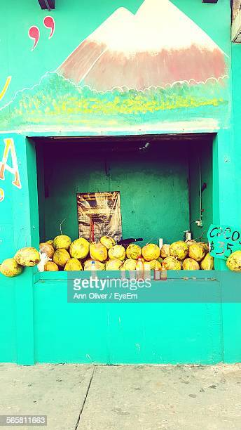 Coconuts For Sale At Store