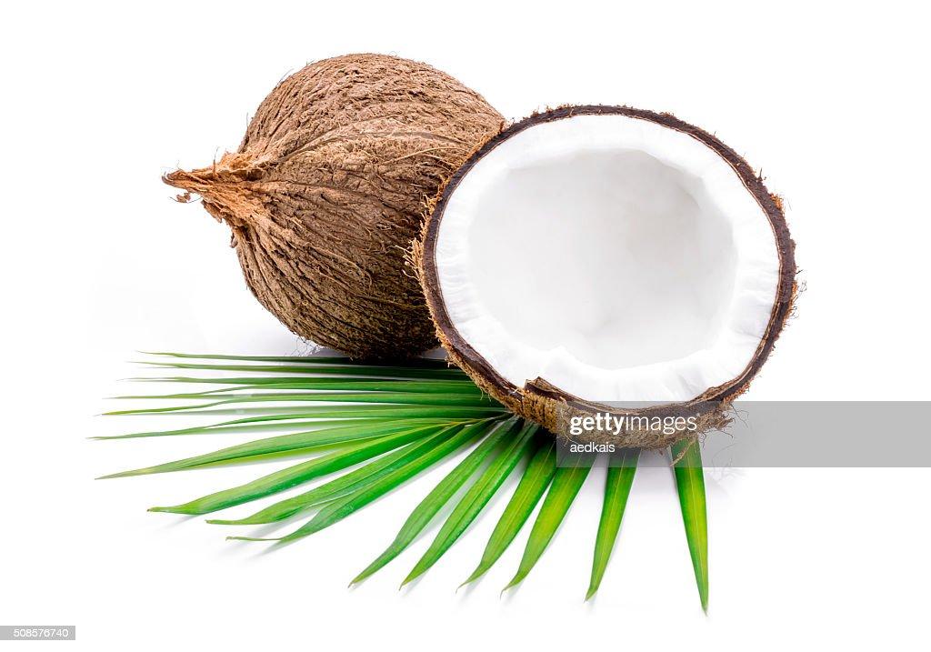 Noci di cocco : Foto stock