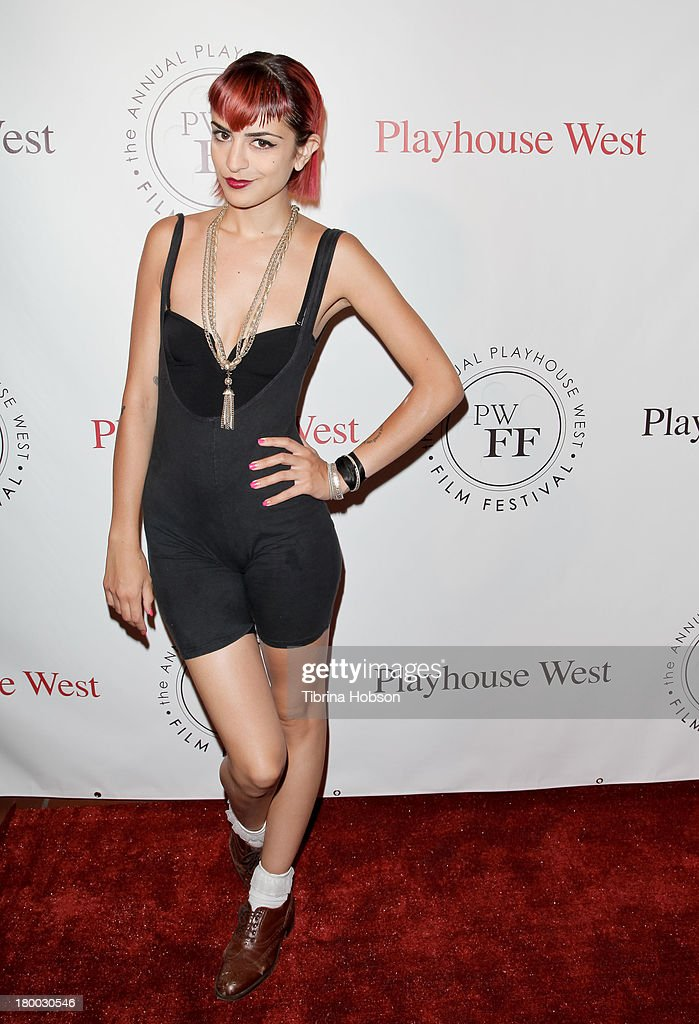 Cocovan attends the 17th annual Playhouse West Film Festival 'Daisy's' premiere at El Portal Theatre on September 7, 2013 in North Hollywood, California.