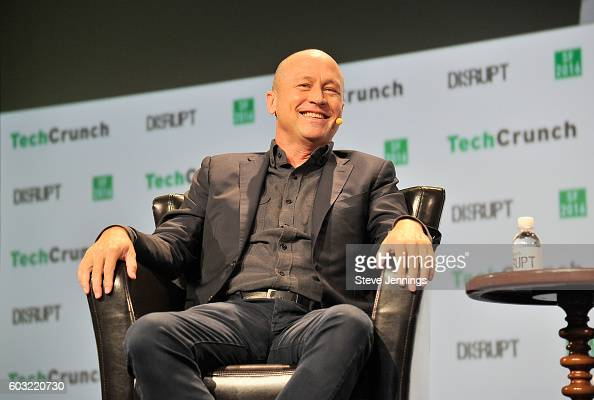CoCreator and Executive Producer of HBO's Silicon Valley Mike Judge speaks onstage during TechCrunch Disrupt SF 2016 at Pier 48 on September 12 2016...