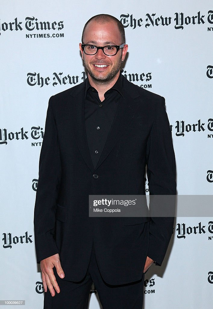 Co-creator and executive producer of the television series 'Lost' Damon Lindelof attends The New York Times' TimesTalk with the creators of ABC's 'Lost' at TheTimesCenter on May 20, 2010 in New York City.